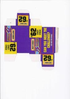 Pattern for printing boxes - Matchbox MB 62 Шаблон для печати коробочек