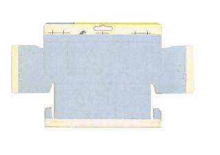 Pattern for printing boxes - Matchbox «King Size series» K-14 Шаблон для печати коробочек