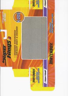 Pattern for printing boxes - Matchbox «King Size series» K-205 Шаблон для печати коробочек