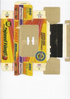 Pattern for printing boxes - Matchbox «King Size series» K-24 Шаблон для печати коробочек