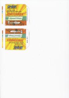 Pattern for printing boxes - Matchbox «King Size series» K-25 Шаблон для печати коробочек