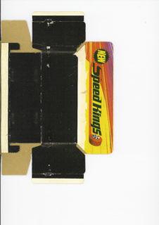 Pattern for printing boxes - Matchbox «King Size series» K-27 Шаблон для печати коробочек