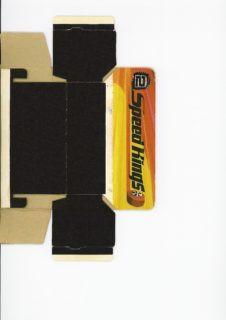 Pattern for printing boxes - Matchbox «King Size series» K-32 Шаблон для печати коробочек