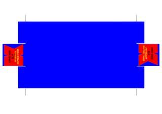 Pattern for printing boxes - Matchbox «King Size series» K-4 Шаблон для печати коробочек