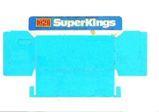 Pattern for printing boxes - Matchbox «King Size series» K-9 Шаблон для печати коробочек