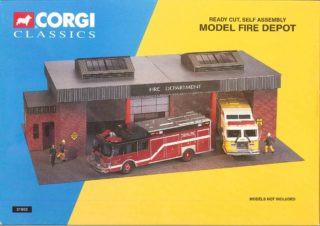 Corgi Toys Model Fire Depot