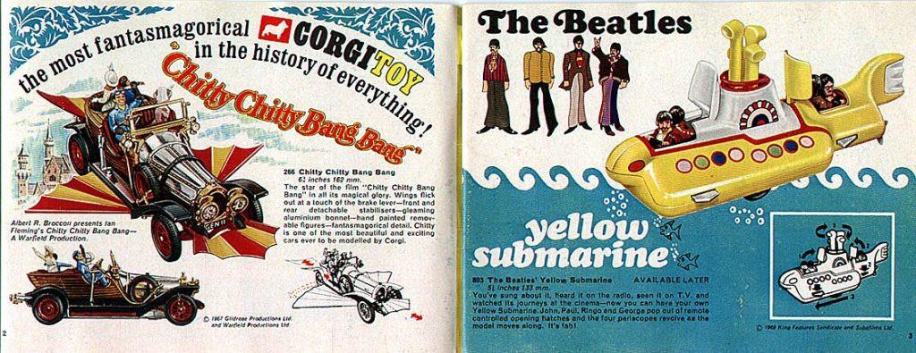 Corgi Toys-Katalog-1969 Britain