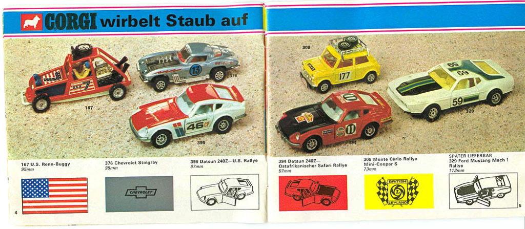 Corgi Toys - Katalog - 1973 german