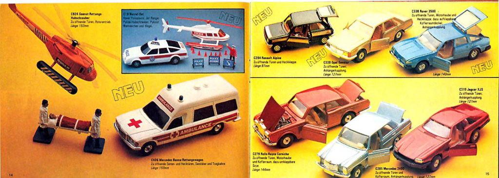 Corgi Toys - Katalog - 1980-81