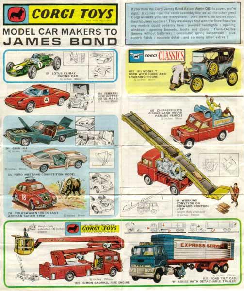 Corgi Toys-Katalog-1969 english