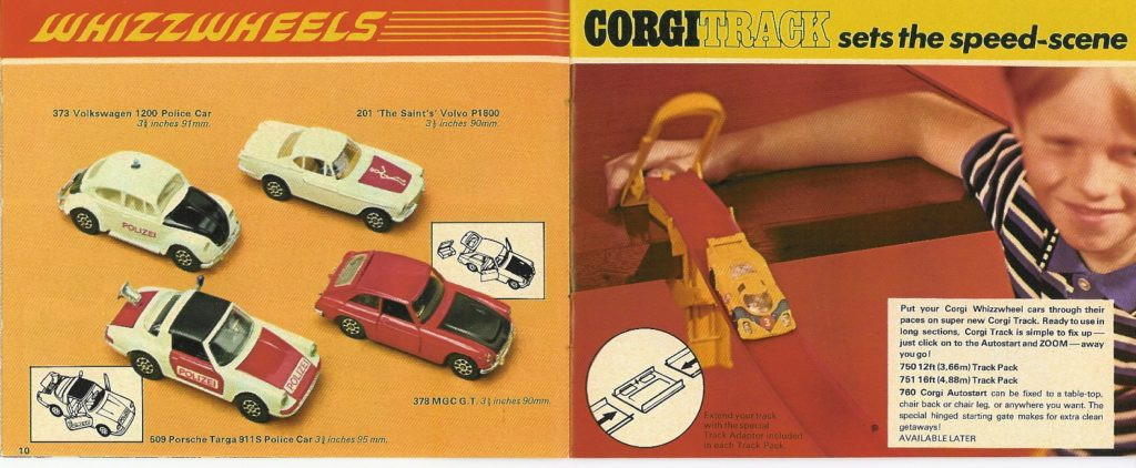 Corgi Toys - Katalog - 1970