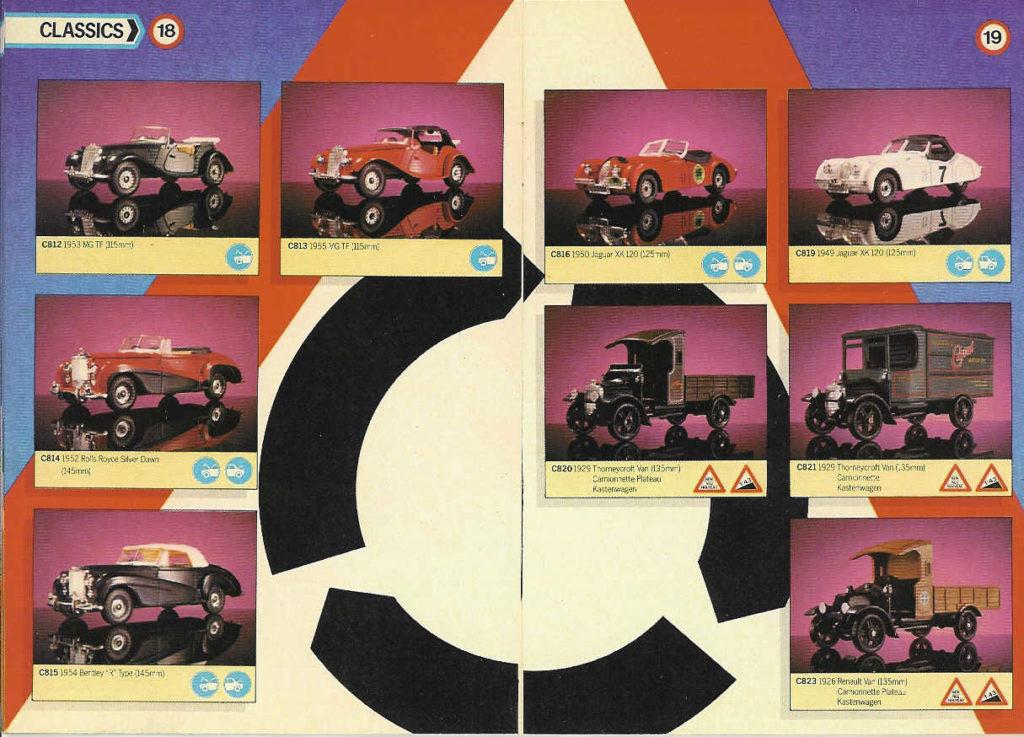 Corgi Toys - Katalog - 1985