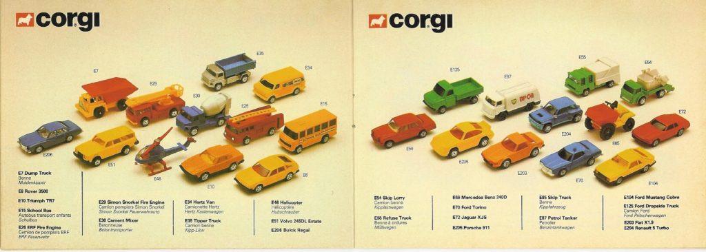 Corgi Toys - Katalog - 1983