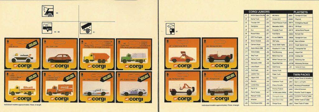 Corgi Toys - Katalog - 1984