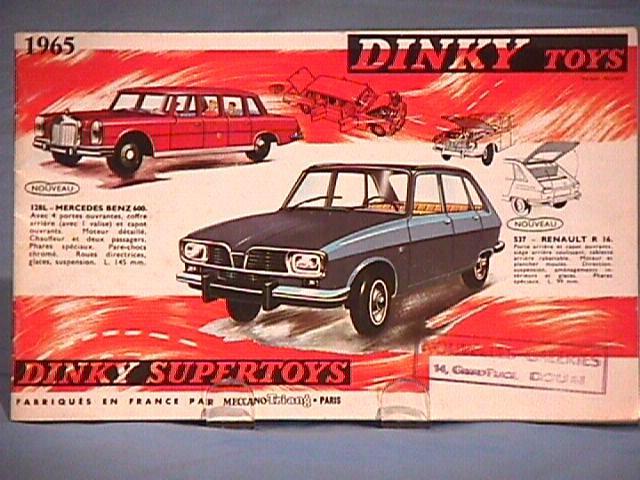 Каталог Dinky Toys-1965 DinkyToys-Katalog-1965