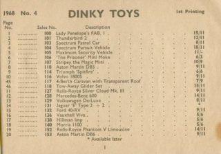 Каталог Dinky Toys-1968 DinkyToys-Katalog-1968