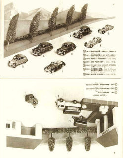 Французский каталог Katalog Dinky Toys - French 1952