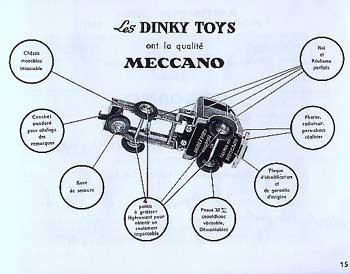 Французский каталог Katalog Dinky Toys - French 1953