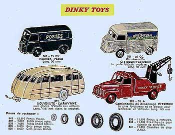 Французский каталог Katalog Dinky Toys - French 1959