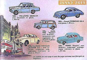 Французский каталог Katalog Dinky Toys - French 1963