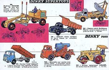 Французский каталог Katalog Dinky Toys - French 1964