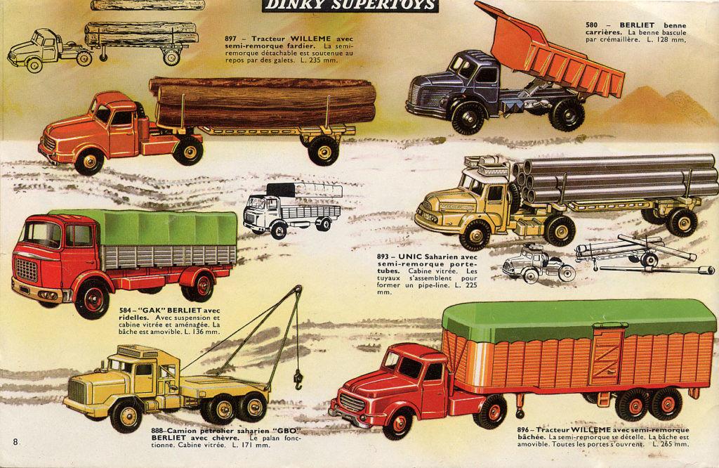Французский каталог Katalog Dinky Toys - French 1965