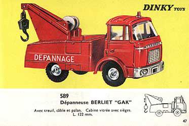 Французский каталог Katalog Dinky Toys - French 1966