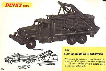 Французский каталог Katalog Dinky Toys - French 1968