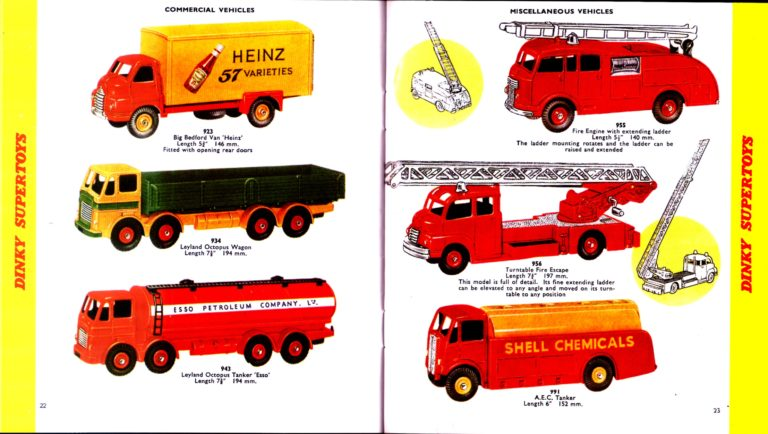 Каталог Dinky Toys-1958 DinkyToys-Katalog-1958