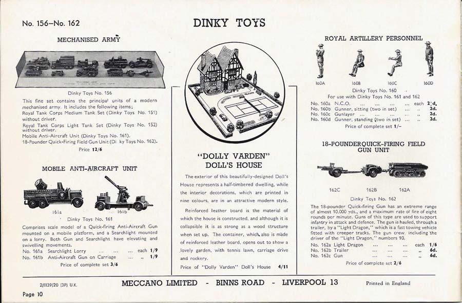 Каталог Dinky Toys-1939 DinkyToys-Katalog-1939