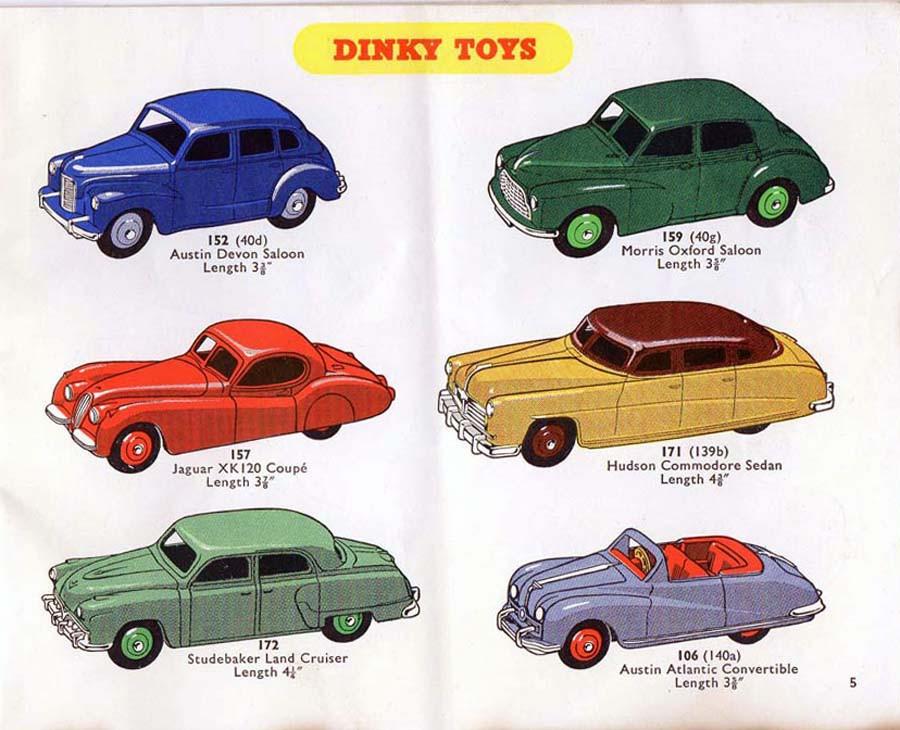 Каталог Dinky Toys-1939 DinkyToys-Katalog-1954