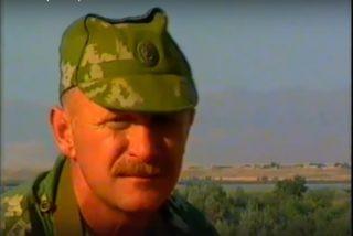 Полковник Валерий Гаврилович Плетнёв. август 1993 года.