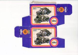 Siku - Corgi toys - Matchbox - Dinky - Templates for printing boxes