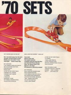 Hot Wheels - Kataloge 1970