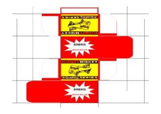 Benbros - Corgi toys - Matchbox - Dinky - Templates for printing boxes