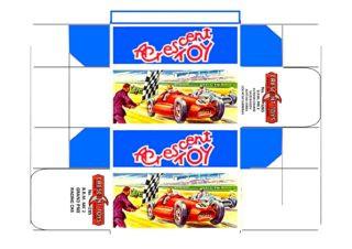 Crescent - Budgie - Benbros - Corgi toys - Matchbox - Dinky - Templates for printing boxes