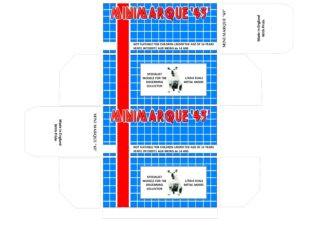 Minimarque - Corgi toys - Matchbox - Dinky - Templates for printing boxes