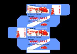 Kemlow - Corgi toys - Matchbox - Dinky - Templates for printing boxes
