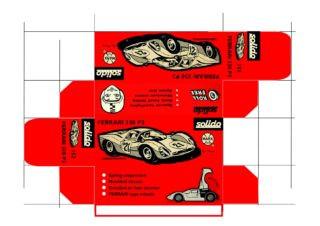 Solido - Siku - Corgi toys - Matchbox - Dinky - Templates for printing boxes